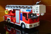 Playmobil Feuerwehr-Leiterwagen