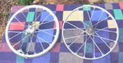 Rarität Guss-Laufräder für Fahrrad 24x590