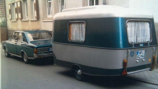 Wohnwagen Eriba Pan Bj 1965
