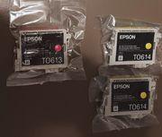 Druckerpatronen Epson 1x T0613 und