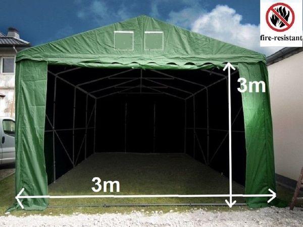 3x9mm Lagerzelt Arbeitszelt Weidezelt Unterstand