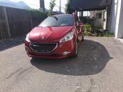 Peugeot 208 neu vorgeführt service