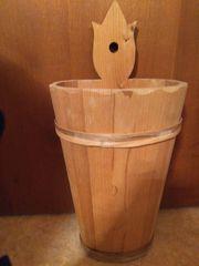 Schirmständer aus Holz
