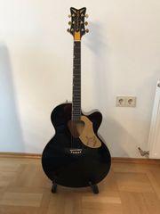 Gretsch G5022CBFE BLK Westerngitarre mit