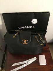 Chanel Weekender Tote Bag Black