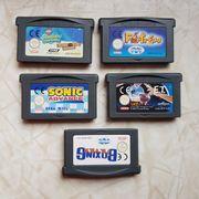 Nintendo Gameboy Advance 5 Spiele