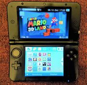 Nintendo 3DS XL in Rot