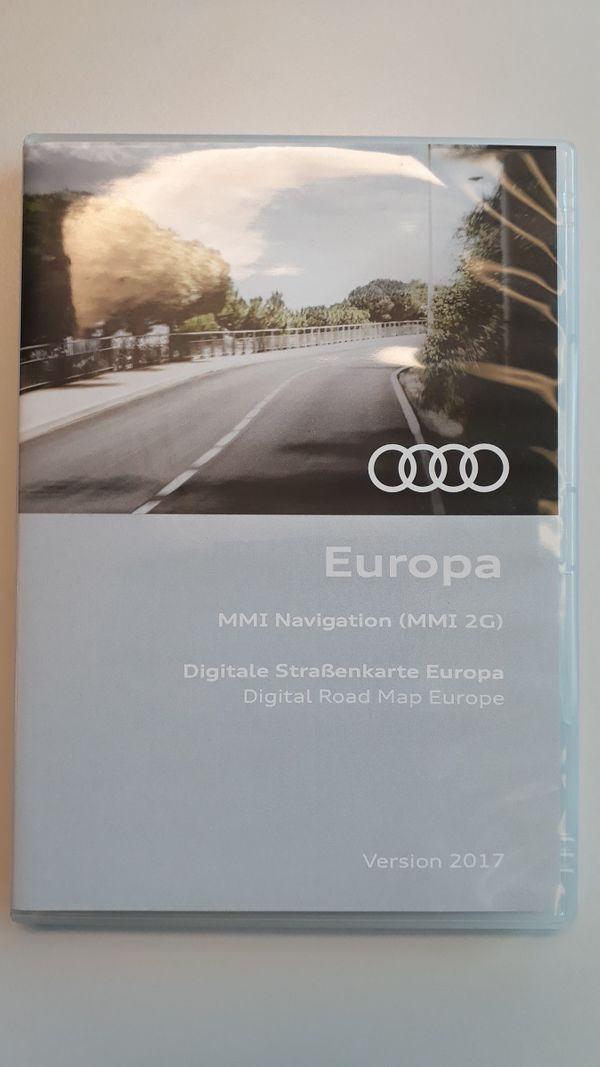 Audi Navi CD Europa - digitale