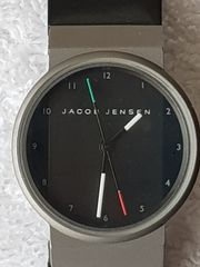 Jacob Jensen Damen-Armbanduhr mit Titangehäuse