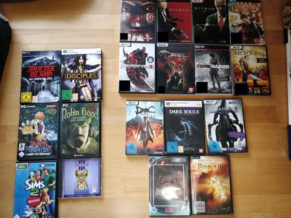 Auflösung einiger PC-Spiele aus meiner