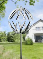 Windrad Polaris Windspiel Garten Dekoration