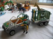 Playmobil Jeep Zoo Nr 4855