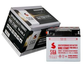 Motorrad-, Roller-Teile - SIGA Motorrad Batterie 32AH 12V