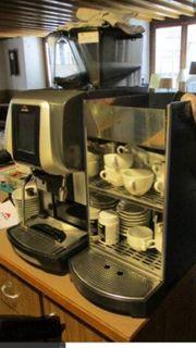 Gastronomie Kaffeemaschine EGRO mit Milchkühlschrank