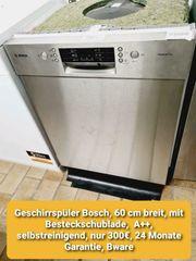 Bosch Geschirrspüler 60 cm mit