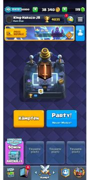 Supercell Clash Royale Acc