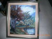 Ölbild auf Leinwand 88 x