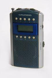Grundig Mini 62 Taschenradio silver-blau