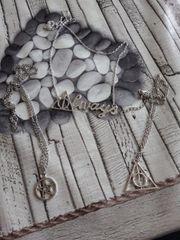 Kette Halskette Always Pentagramm Heiligtümer