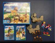 Playmobil Tiere Zoo Löwen Affen