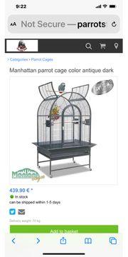 Montana Papageien Käfig