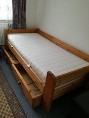 Massivholz Bett 200 x 90