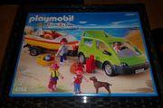 PLAYMOBIL 4144 Family-Van mit Boot
