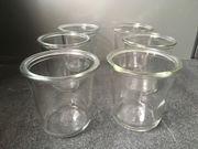 Weckgläser ohne Deckel Ruhrglas Einweckglas