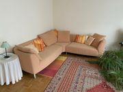 Rolf Benz Sofa 3-teilig ocker-gelb