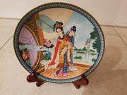 Sammerteller 1986 Imperial Jingdezhen Porcelan