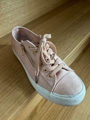 Sneaker rosa nur 1x getragener