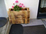 Blumenkasten Planzenkübel auf Rollen aus