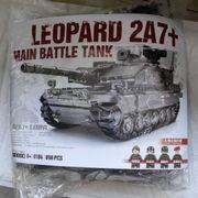 Military Bausteine Bundeswehr Panzer Leopard