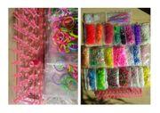 Loom-Bänder-Sammlung mit Häckelnadeln Webrahmen und