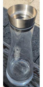 Karaffe aus Glas Glaskaraffe