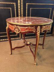 Salon Tisch Transition-Stil mit Marmorplatte