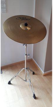 Becken Cymbal inkl Ständer Stativ