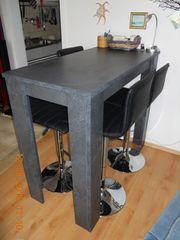 Bar- Tisch- Tresen incl 4