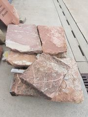 Sandsteinplatte mit Motiv