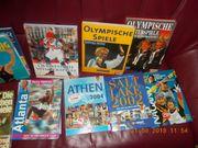 sehr viele Sportbücher Fußball Olympia