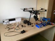 Drohne DJI S800-DJI Lightbridge-Zenmuse Z15n-Sony
