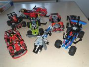 Lego verschieden Fahrzeuge