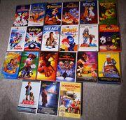 Versch Kinderfilme VHS Disney