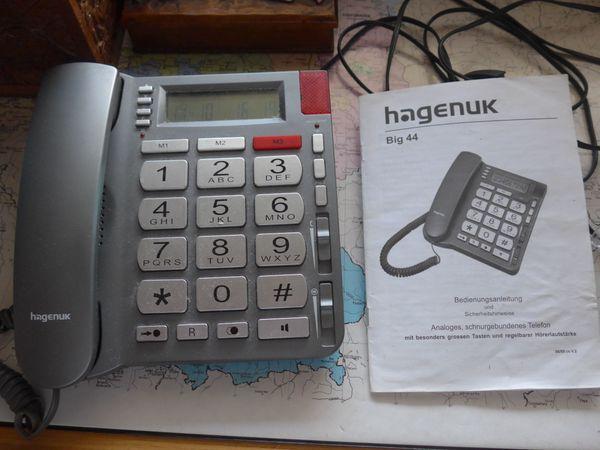 Seniorentelefon Hagenuk Big 44