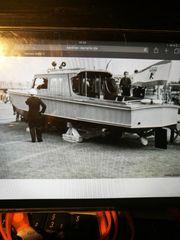 Motorboot Stahlboot
