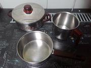 Kasserole Milchtopf und Kochtopf mit