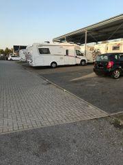 Stellplatz für Wohnmobil Wohnwagen