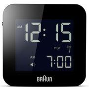 BRAUN- funkgesteuerter Alarm-Reisewecker BNC008-RC schwarz