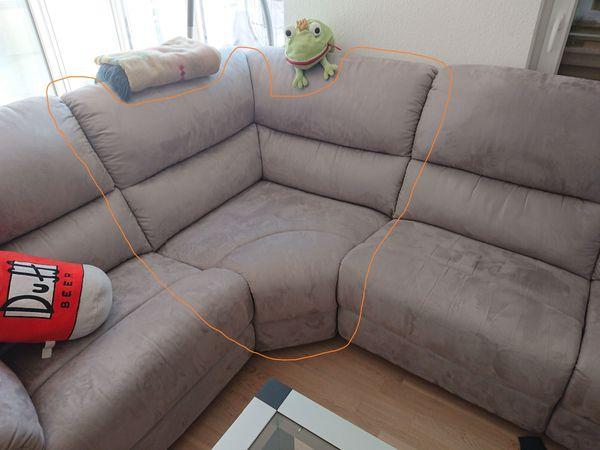 Schönes Couch-Eckstück Modell Arctic in