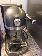 KitchenAid Artisan Nespressomaschine medallion silber